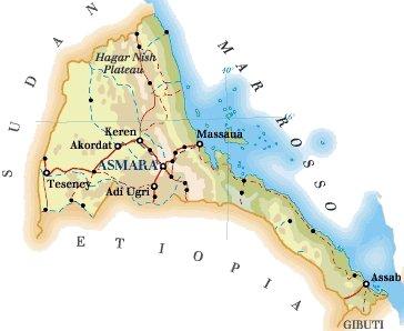 Cartina Eritrea.Volti E Colori Di Un Africa Diversa Haiti